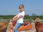 Click here to go to a short video of our horseback ride at the Brandin' Iron Corral in Florida.